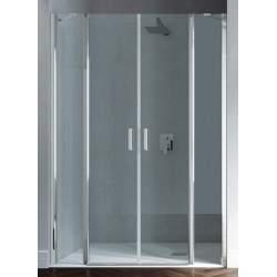 Saloon shower door with 2...