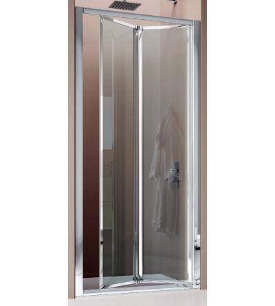Porta doccia 2 ante a soffietto apertura verso l'interno Samo America B6831
