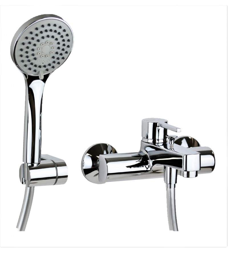 Bath mixer with duplex...