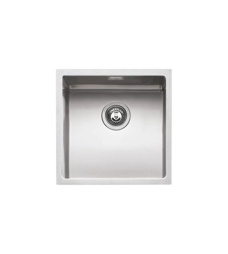 Square bowl kitchen sink in...