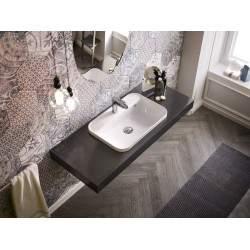 Built-in ceramic washbasin...
