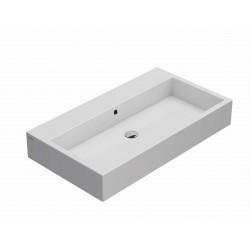 Ceramic washbasin suspended...