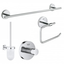 Bathroom accessories set in...