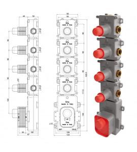 DIRTMAG® - Defangatore con magnete. Corpo in tecnopolimero CALEFFI 5453