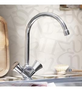 Lavello monocomando Nobili ABC AB87137/1CR