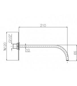 Mioscelatore doccia incasso con deviatore automatico ELY015