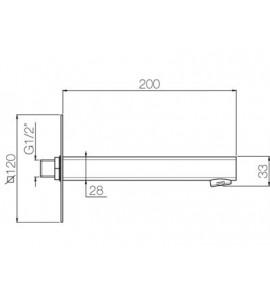 Miscelatore termostatico doccia Paffoni LEVEL LEQ268D