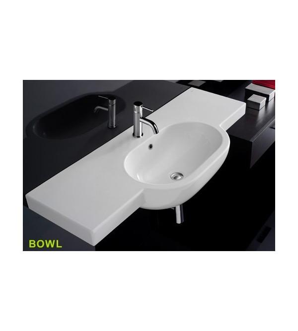 Globo Waschbecken waschbecken schwebend globo bowl sa024 bi rubinetteria shop