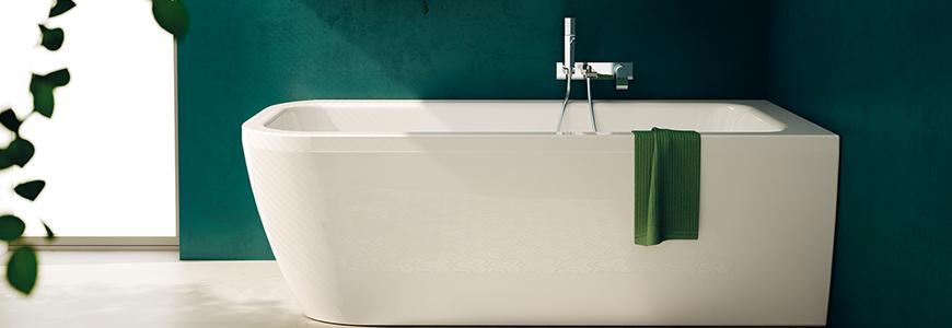 Vasche da bagno piccole e grandi moderne prezzi shop online rubinetteria shop - Vasche da bagno grandi ...