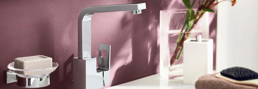 Mélangeurs électroniques salle de bain