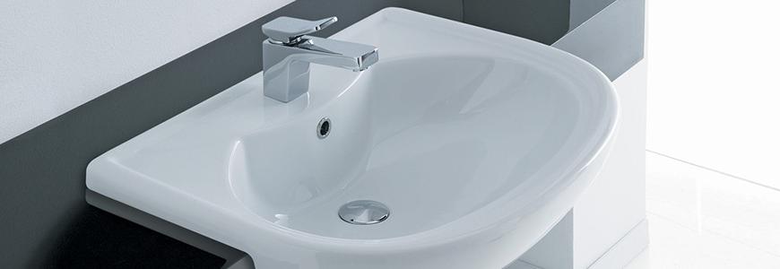 Lavabo e lavandino semincasso per bagno vendita online rubinetteria shop - Lavandini bagno da incasso ...