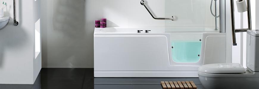 Vasche da bagno piccole e grandi moderne prezzi shop online rubinetteria shop - Vasche da bagno per disabili prezzi ...