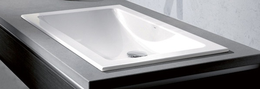 Built In Washbasin And Sinks And Prices Online Rubinetteria Shop