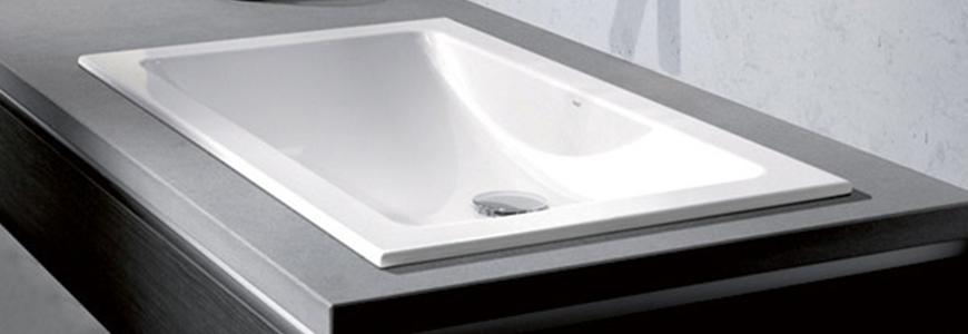 Les lavabos intégrés