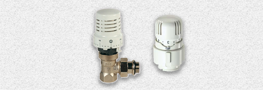 Thermostatic valves for radiators