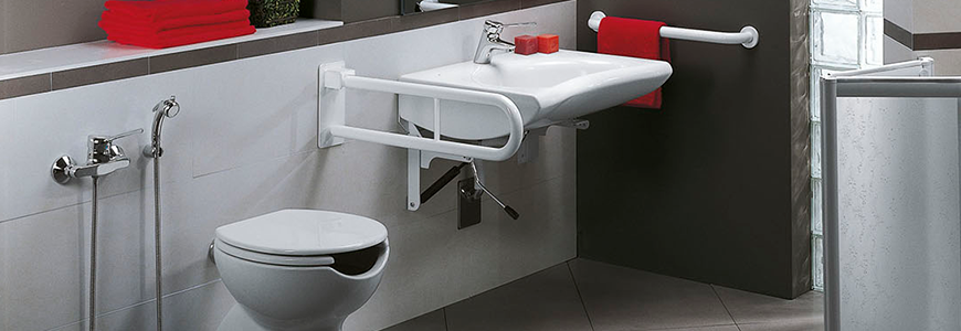 Bathroom bars for disabled