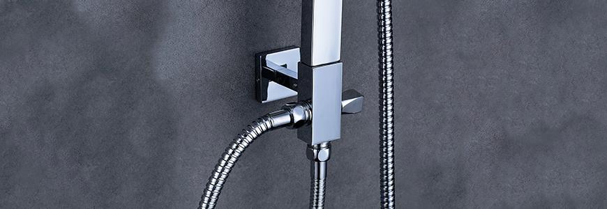Colonnes de douche sans mélangeur
