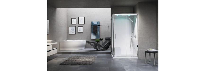 Cabinas de ducha multifuncionales