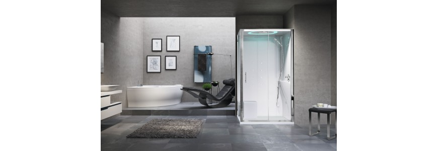 Multifunction shower cabins