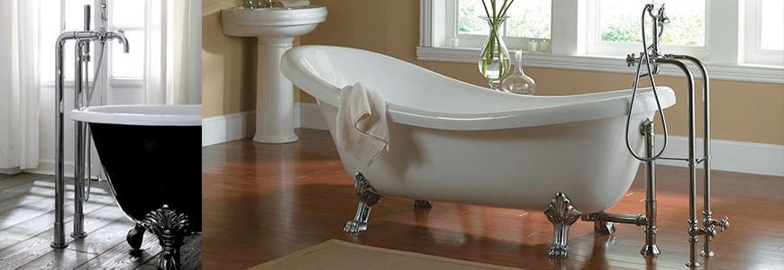 Les robinets pour la bain de sol