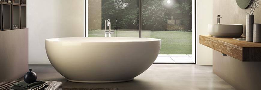 Vasche da bagno piccole e grandi moderne prezzi shop online ...