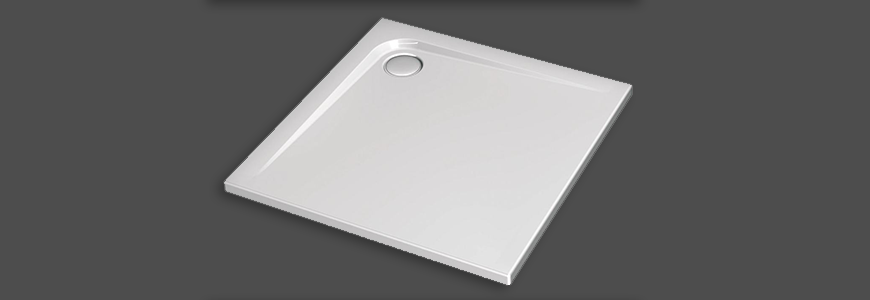 Squared shower plate