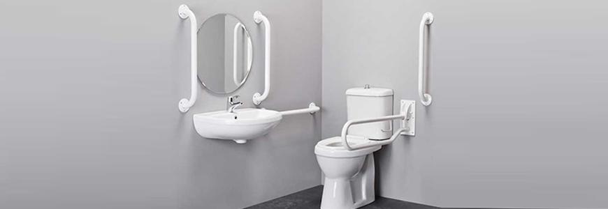 Accessoires pour handicapés de toilette