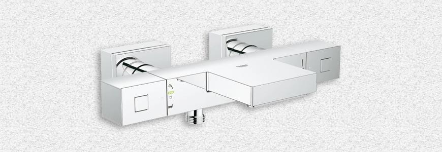 Grifo ducha termost tico rubinetteria shop - Grifo termostatico ducha ...