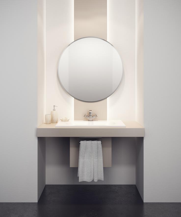 Come arredare un bagno piccolo nove soluzioni per uno spazio ridotto rubinetteria shop - Arredare il bagno piccolo ...